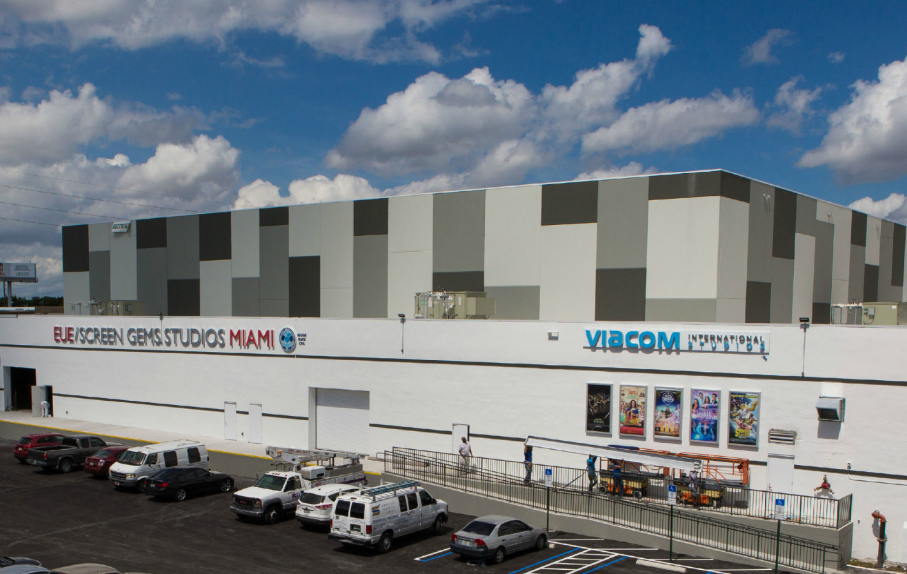 EUE/Screen Gems Studios Miami opens in partnership with Viacom International Studios