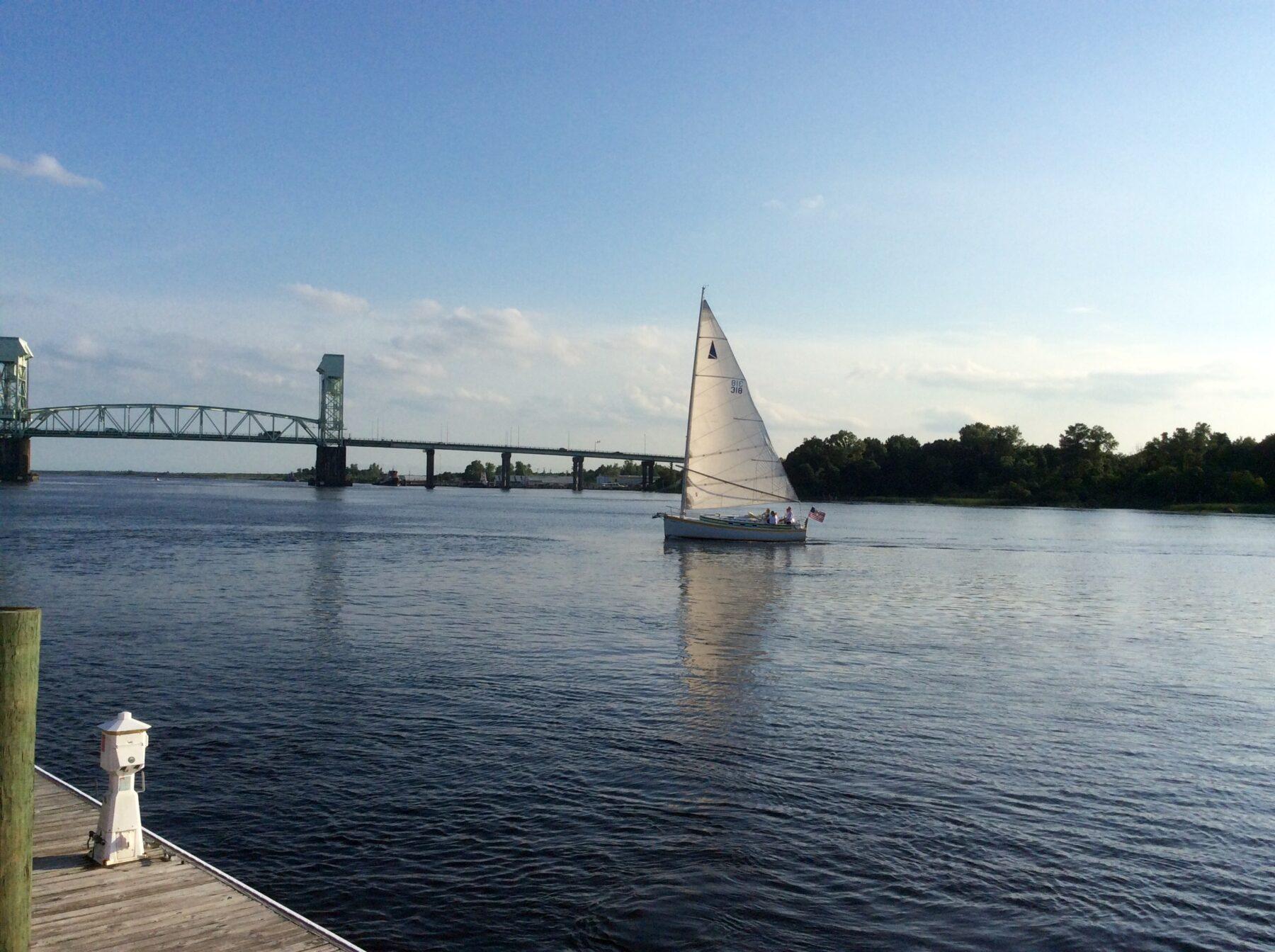 Wilmington NC Bridge in Iron Man 3