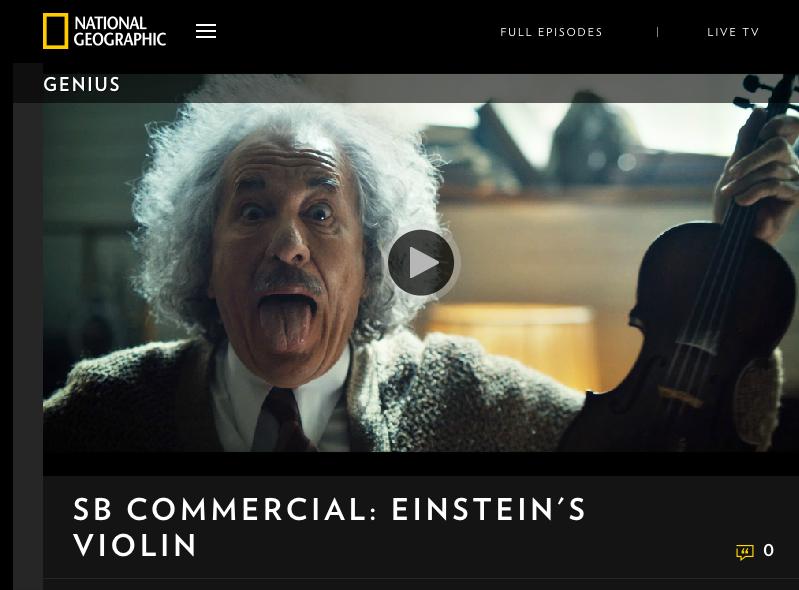 """""""Genius"""" Super Bowl Ad"""