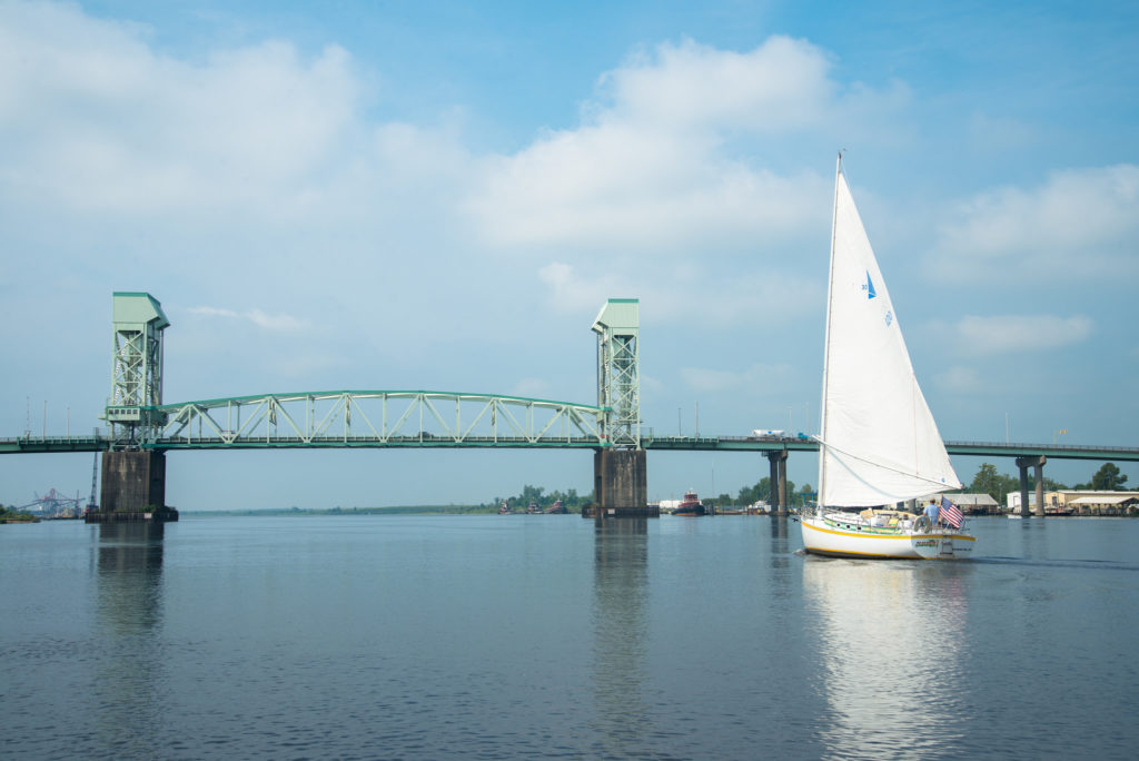 Cape Fear Memorial Bridge -a Film Tour spot