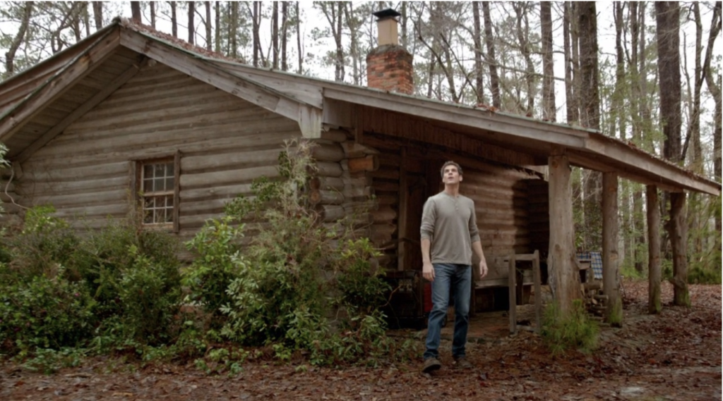 Cabin, CBS Under the Dome at EUE/Screen Gems Studios Wilmington NC