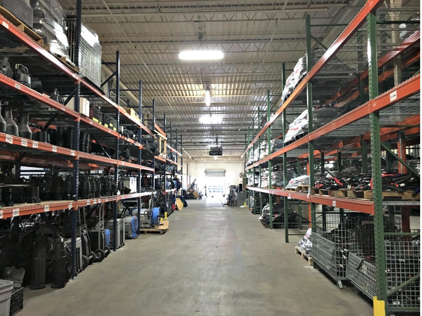 EUE/Screen Gems Studios Atlanta- Lighting and Grip Shelves